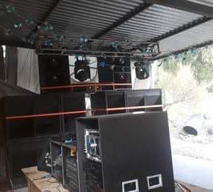 Servicio de audio e iluminacion