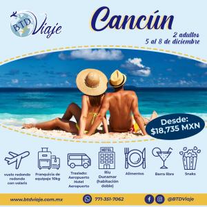 Cancún en pareja