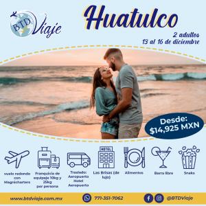Huatulco pareja